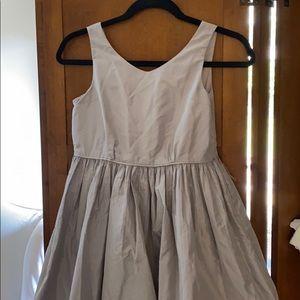Crewcuts Collection silk gray dress